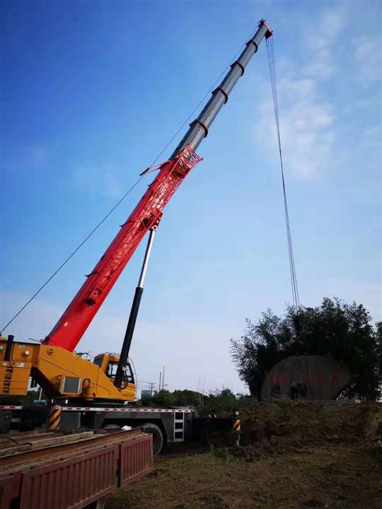 石家庄吊车租赁设备吊装步骤