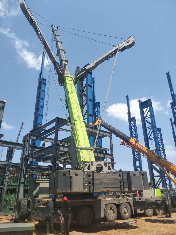 石家庄工地钢结构吊装施工